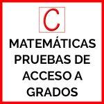 Logo del grupo Matemáticas Pruebas de Acceso a Grados